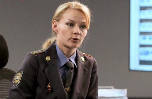 В сериале Ходченкова играет сексуальную полицейскую