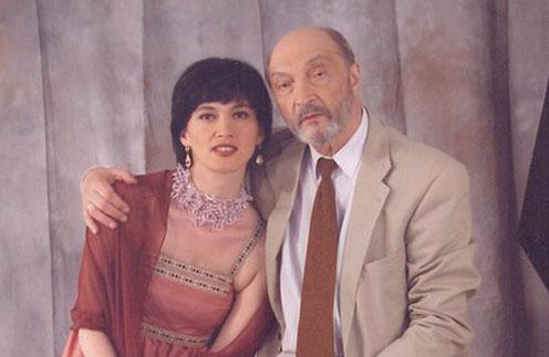 Манана- дочь Михаила Козакова от брака с художником-реставратором Медеей Берелашвили