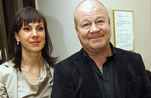 Сергей Селин и его супруга Анна
