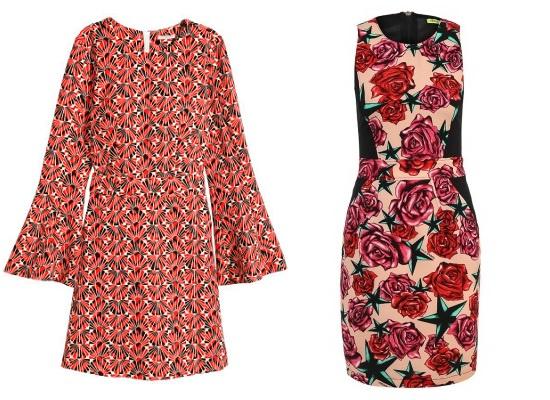 Слева направо: H&M, Versace Jeans