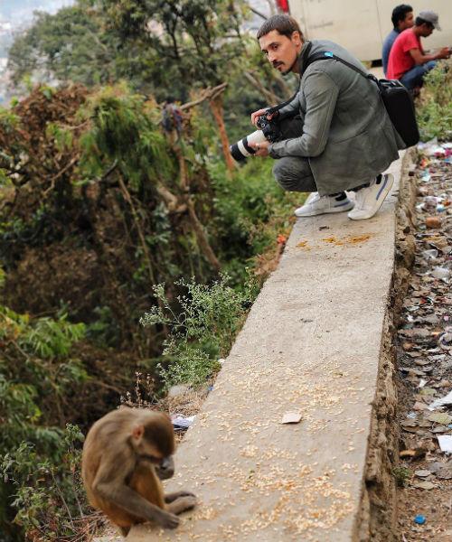 Дима Билан делится фотографиями с экскурсий в Непале