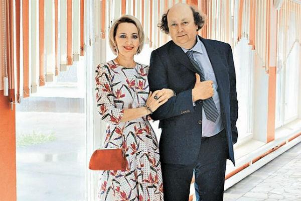 Татьяна Проценко с мужем Алексеем Войтюком