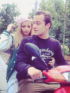 Теона Дольникова с возлюбленным Никитой Быченковым