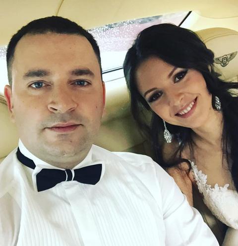 Леонид Закошанский со своей любимой женщиной Жанной