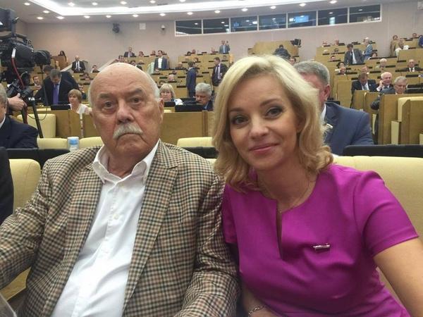 Станислав Говорухин и Ольга Казакова
