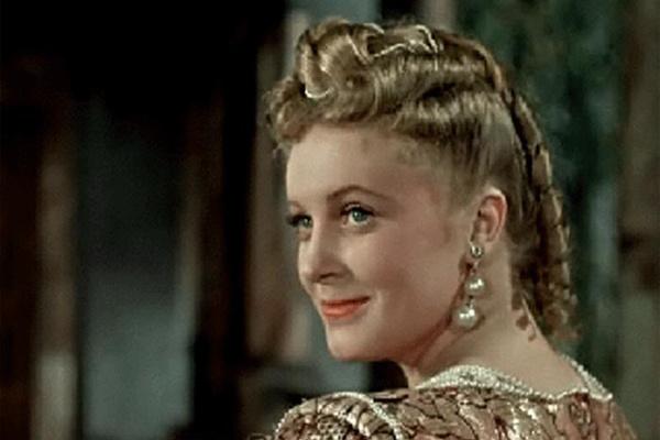Актриса в киноленте «Двенадцатая ночь»