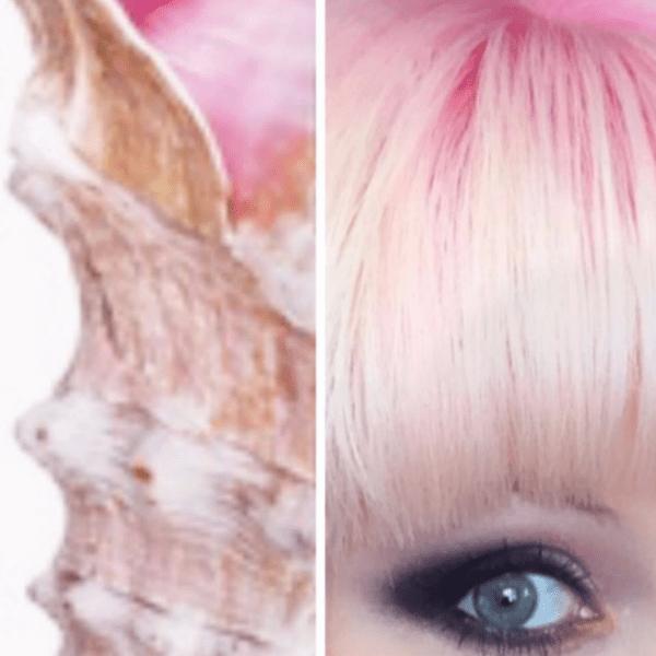 Свой цвет волос Натали сравнила с «устричным брюшком»