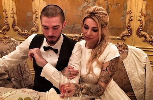 Лиза Кутузова с мужем Ростиславом Пироговым