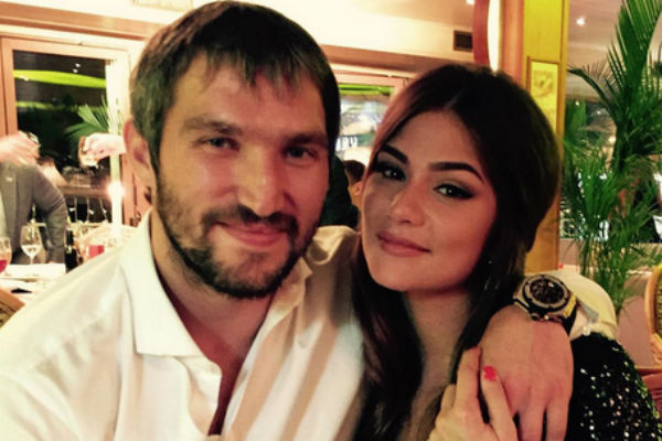 Анастасия Шубская и Александр Овечкин планируют обвенчаться