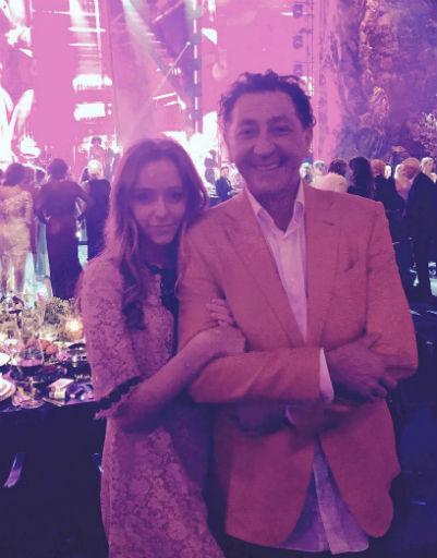 Григорий Лепс с дочкой Евой
