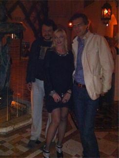 Кристина Орбакайте и Михаил Земцова