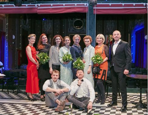 Команда театра «Школа современной пьесы»