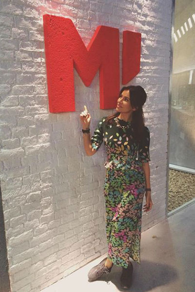 Невестка Федора Бондарчука стала ведущей канала «Матч ТВ»