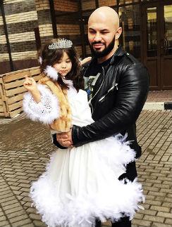 Рэпер Джиган с дочерью Ариелой