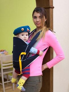 Алиана Гобозова с сыном Робертом
