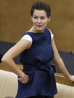 Мария Кожевникова на заседании Госдумы 24 сентября