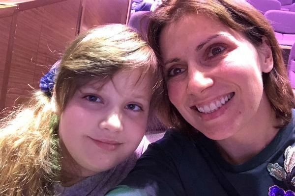 Светлана Зейналова недавно поздравляла дочь с 10-летием