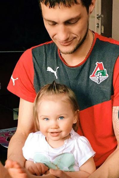 Александр Задойнов с дочерью Сашей