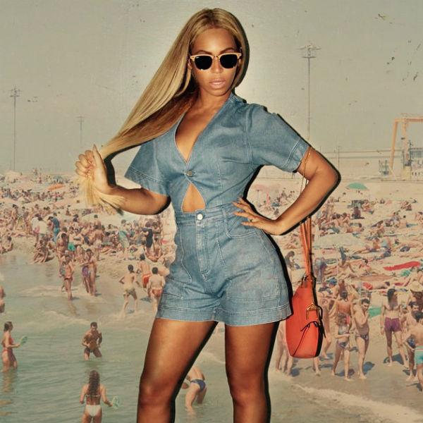 Бейонсе, пожалуй, является самой популярной темнокожей блондинкой в США