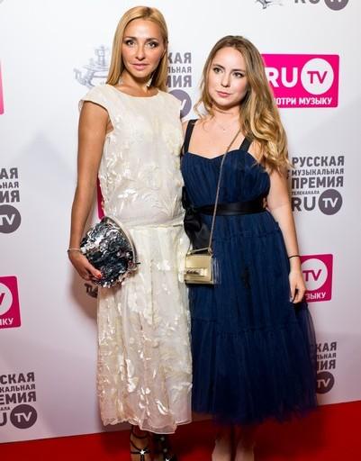 Татьяна Навка с дочерью Александрой Жулиной