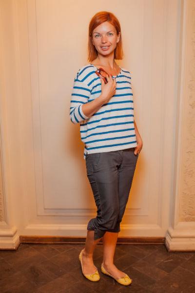 Среди гостей вечера была замечена актриса Алиса Гребенщикова