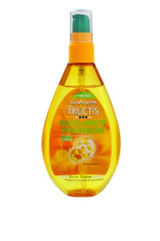 Garnier Fructis Масло-эликсир «Преображение» для всех типов волос с  маслом арганы, 249 руб.