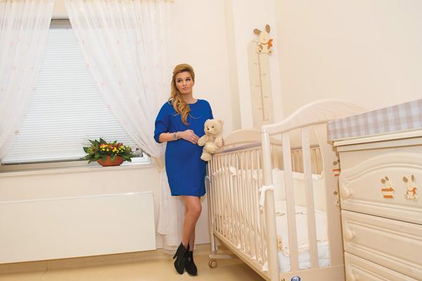 Ксения Бородина выбрала домашние роды.