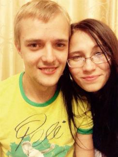 Сергей Зверев-младший с избранницей Марией Бикмаевой