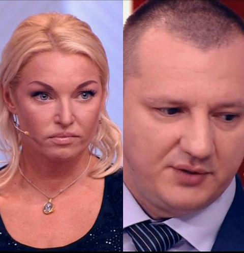 Анастасия Волочкова и Александр Скиртач