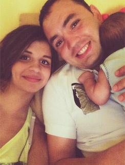 Алиана и Александр Гобозовы с сыном Робертом