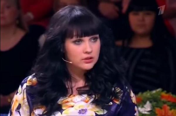 В прошлом году Холошина рассказала о нелегкой жизни в эфире «Давай поженимся»