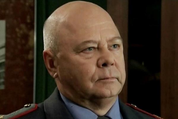 Житарев в роли генерал-лейтенанта Римеева в сериале «Глухарь-3»