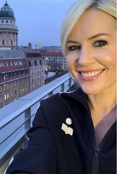 Недавно певица побывала в Берлине