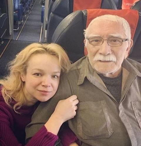 Виталина Цымбалюк-Романовкая и Армен Джигарханян