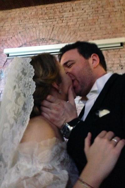 Свадьба Ксении и Максима  стала сюрпризом даже для  близких, 1 февраля 2013 года