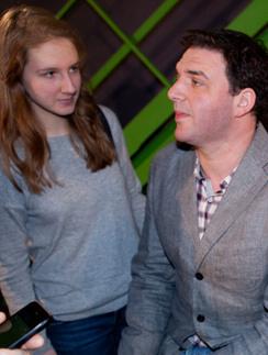 Полина и Максим Виторган