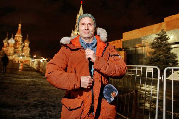 Мадс Миккельсен провел в Москве два дня
