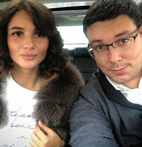 Андрей Чуев с женой Викторией