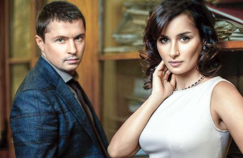 Тина Канделаки и Василий Бровко поженились зимой, но не афишировали этого