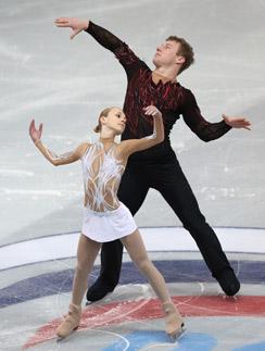 Юлия Антипова и Нодари Майсурадзе. На чемпионате мира в марте 2014 года они стали восьмыми