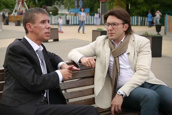 Алексей Панин и Андрей Малахов