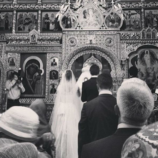 Венчание Анастасии и Григория