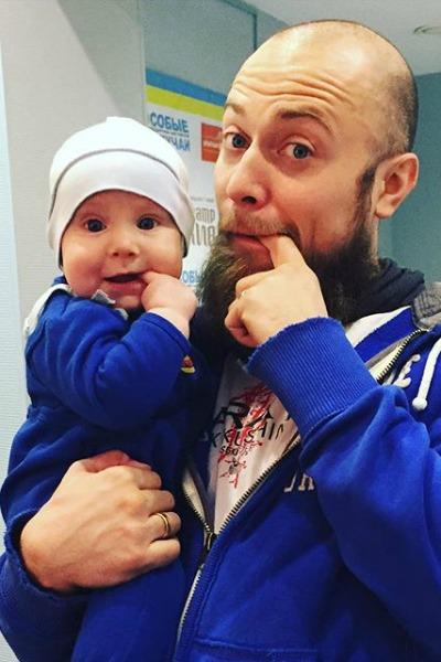 Младшему сыну телезвезды недавно исполнилось 5 месяцев