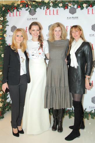 Наталья Шкулева, Анастасия Романцова, Любовь Абрамова и Ирина Мухина