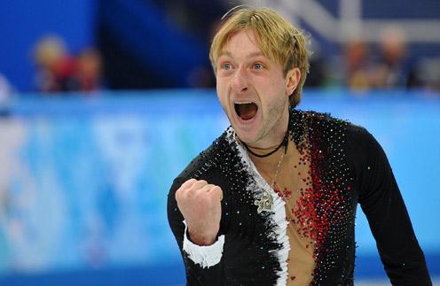 Евгений Плющенко после проката