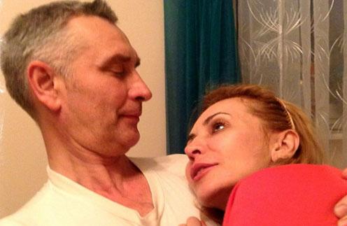 Ирина Агибалова с мужем