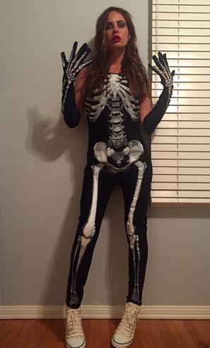 Саша Зверева в полном восторге от Хеллоуина по-американски
