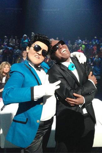 Образ южнокорейского рэпера пришелся певице по душе