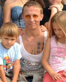 Иван Охлобыстин, шестеро детей