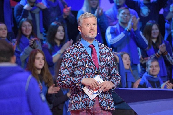Валдис Пельш выступил в роли ведущего шоу